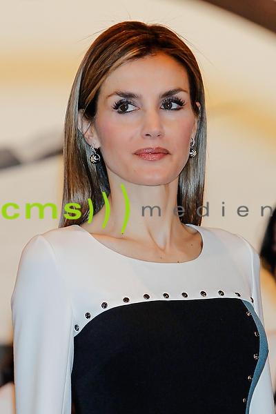 Queen Letizia of Spain ARCO Modern art fair 2015