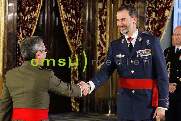 Der spanische König Felipe VI. in Madrid, 20.4.2015