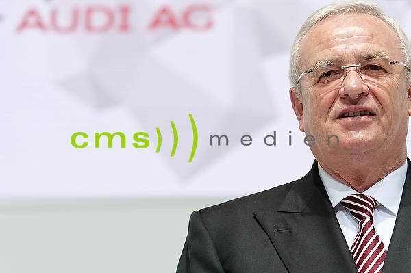 Martin Winterkorn - AUDI AG Hauptversammlung Neckarsulm 2015
