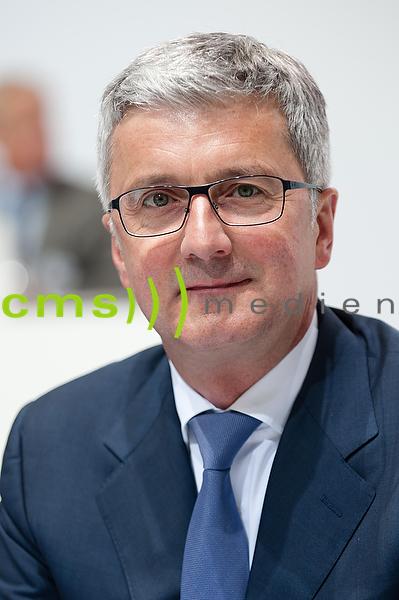 Prof. Rupert Stadler - AUDI AG Hauptversammlung Neckarsulm 2015