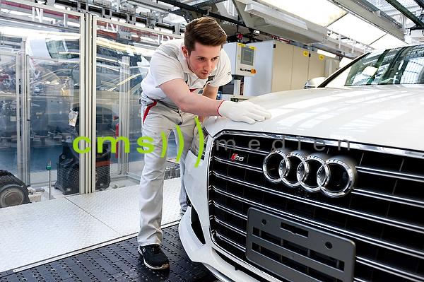 AUDI A8 - Erstinbetriebnahme - AUDI AG - Produktion in Neckarsulm