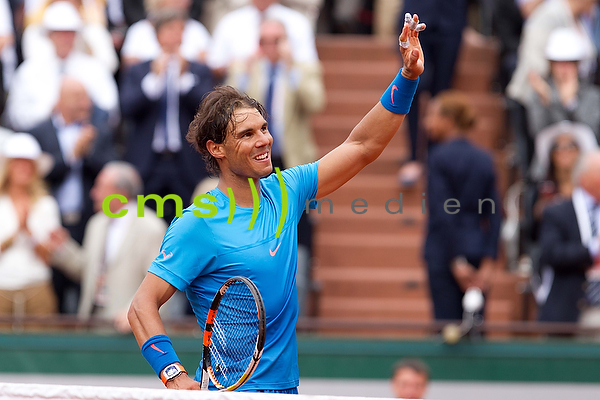 Rafael Nadal (ESP) - French Open 26.5.2015
