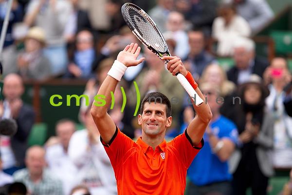 Novak Djokovic - French Open 26.5.2015