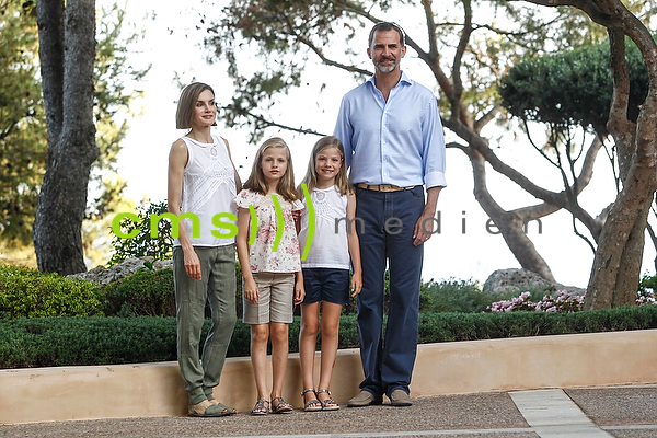Spanish Royals holidays at the Marivent Palace, Mallorca 3.8.2015