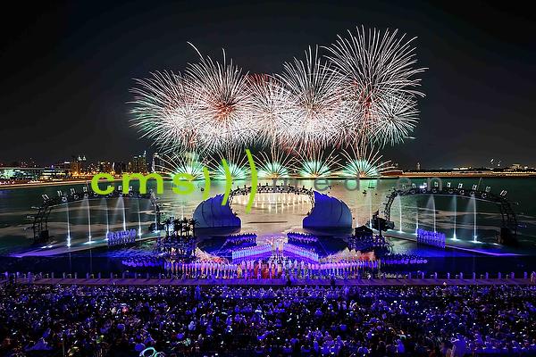 CMS-MEDIEN Pressebildagentur: 44. Nationalfeiertag der Vereinigten Arabischen Emirate (VAE) in Dubai