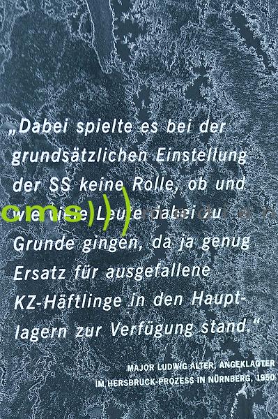 KZ Dokumentationsort Hersbruck Happurg