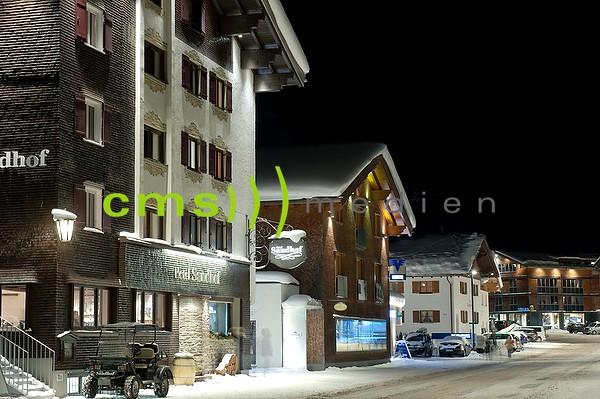 Lech am Arlberg bei Nacht - Fotoposter - Bildnummer 7100