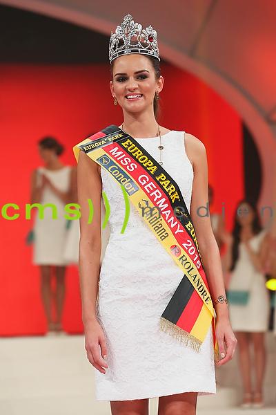 Lena Broeder neue Miss Germany 2016 - Wahl im Europapark Rust, 20.2.2016