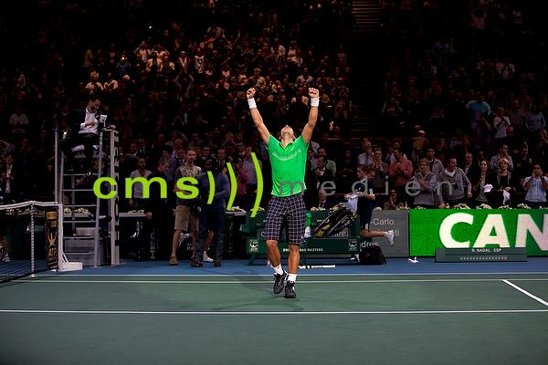 CMS-MEDIEN BILDARCHIV: BNP Paribas Masters - ATP Tennis Turnier in Paris 2009