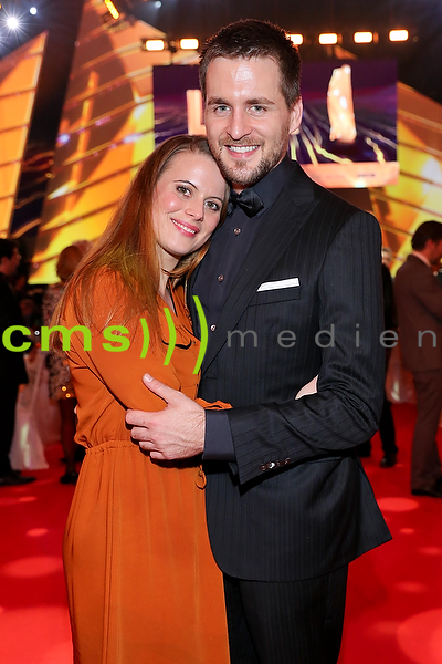 Alexander Klaws und Nadja Scheiwiler LEA Live Entertainment Award, Frankfurt am Main 4.4.2016
