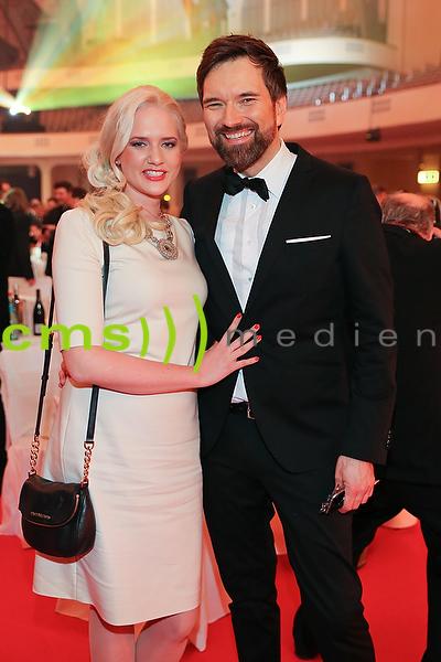 Ingo Nommsen + Sarah Knappik LEA Live Entertainment Award, Frankfurt am Main 4.4.2016