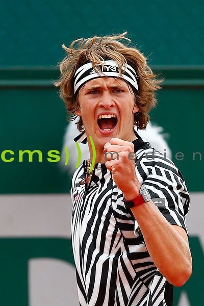 Alexander Zverev - Tennis French Open 2016