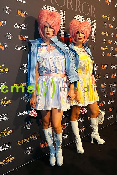 Miriam Mack und Monica Ivancan Horror - Glam Nights Rust, 2.10.2016