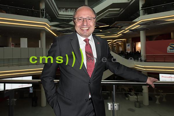 Ernst Kick (CEO) Spielwarenmesse Nuernberg, 31.1.17