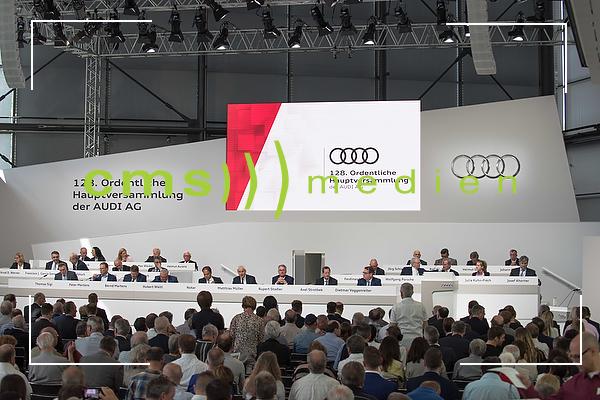 128. Ordentliche Hauptversammlung der AUDI AG in Neckarsulm, 18.5.2017