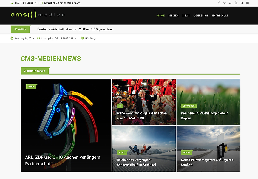 Homepage made by https://www.cms-medien.de